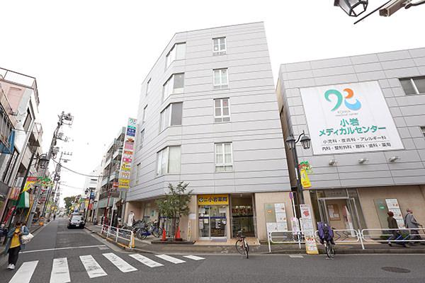 京成小岩駅そば、医療モール内と好アクセスです